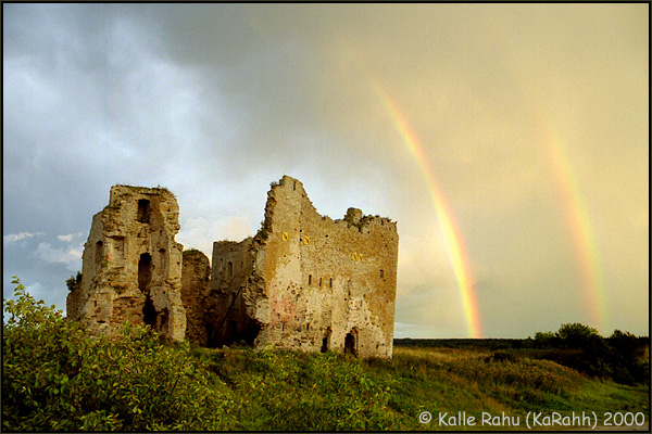 Toolse castle ruins, 15.century (59°32,19'N 26°28,09'E)